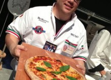 World Champion Pizza Maker Pushes Pies In Greenwich