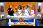 Bruno DiFabio On CBS New York – Couch Competition: Pizza In 60 Seconds…Or Less?