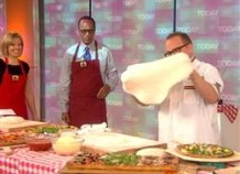Bruno on Today – Ready, set, dough! Pizza champ tries for record